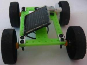 Stavba Autíčka na solární pohon