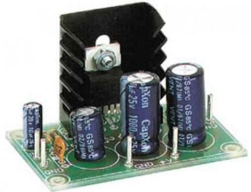 Zesilovač TDA2003 a ukázkové zapojení