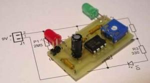Zapínání a vypínání jedním tlačítkem s obvodem 555